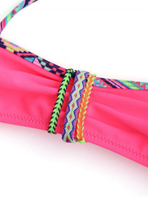 hot Halter Zig Zag Kid Bikini - TUTTI FRUTTI 5T Mobile