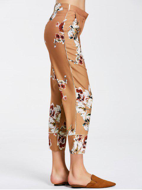 best Floral Boot Cut Ninth Pants - FLORAL S Mobile