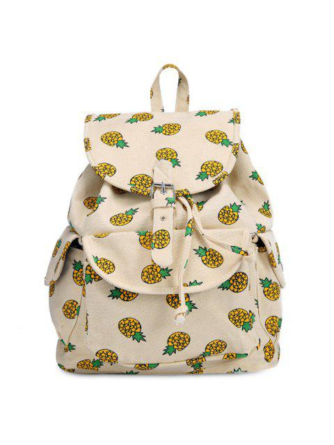 buy Fruit Print Canvas Backpack - PALOMINO  Mobile