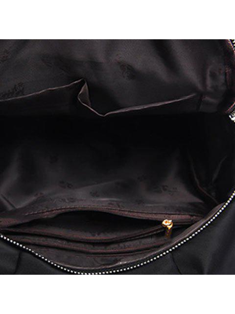 Tapicería étnica Nylon Backapck - Negro  Mobile