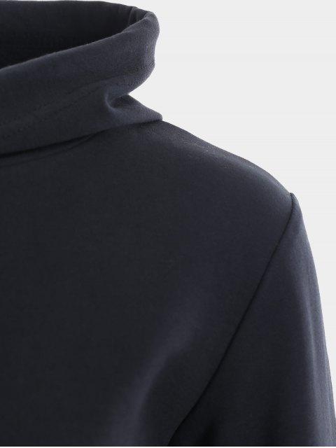Sweat à capuche sport à manches courtes - Noir M Mobile