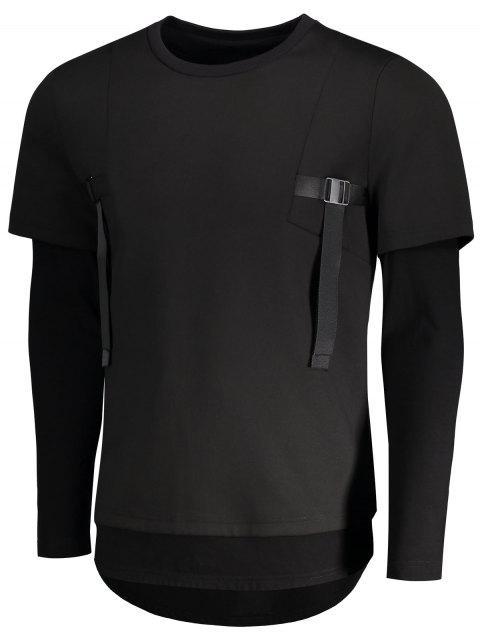 Sweat-shirt à bas prix - Noir M Mobile