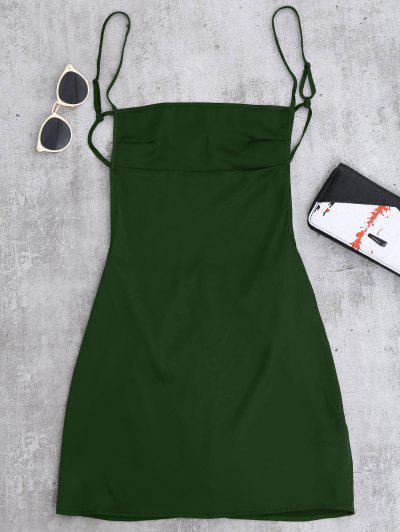 Open Back Slip Dress