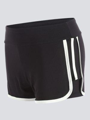 Stripe Trim Pantalones Deportivos - Blanco Xl