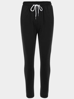 Striped Drawstring Sports Pants