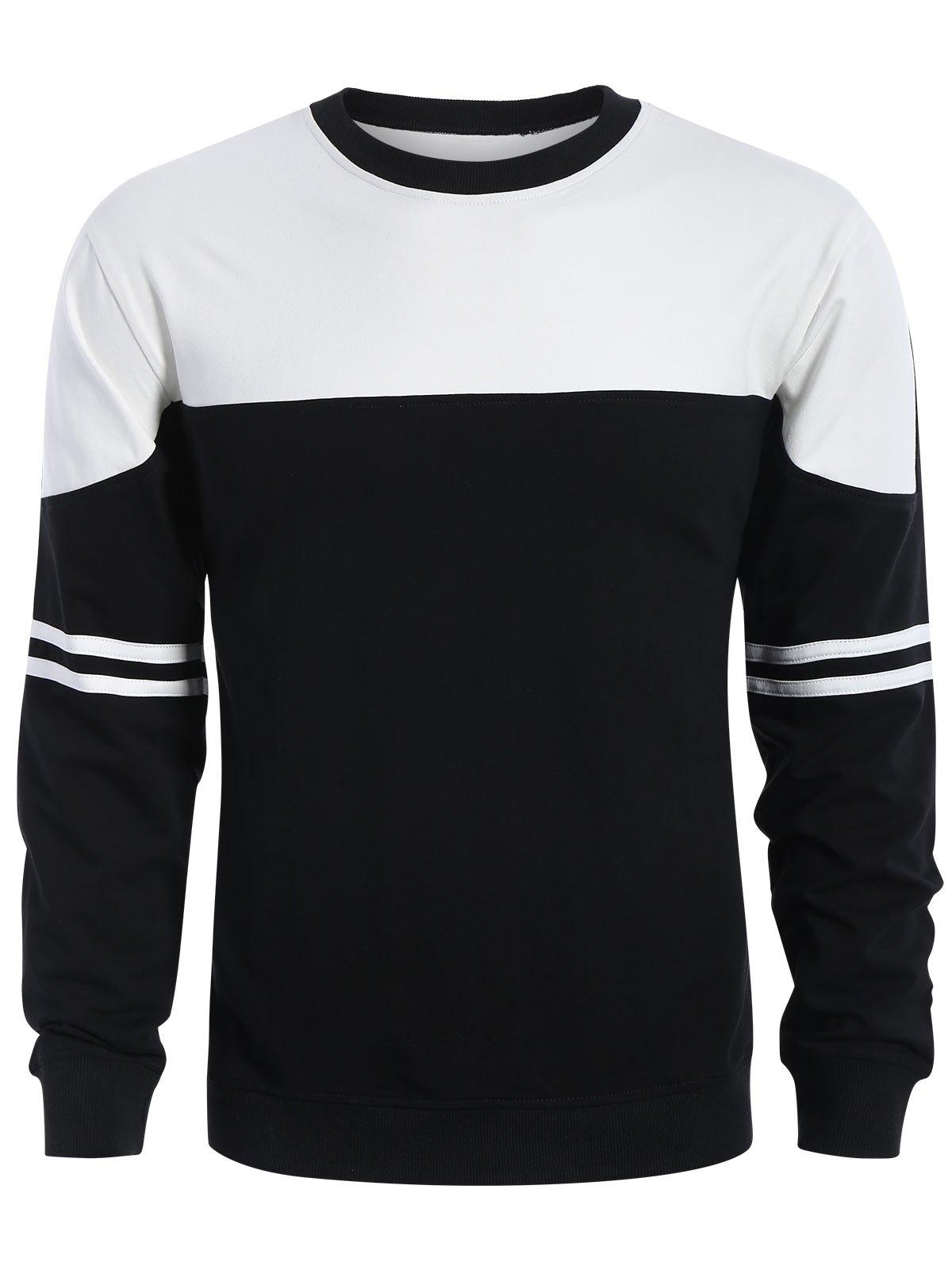 Mens Two Tone Sweatshirt 221370501