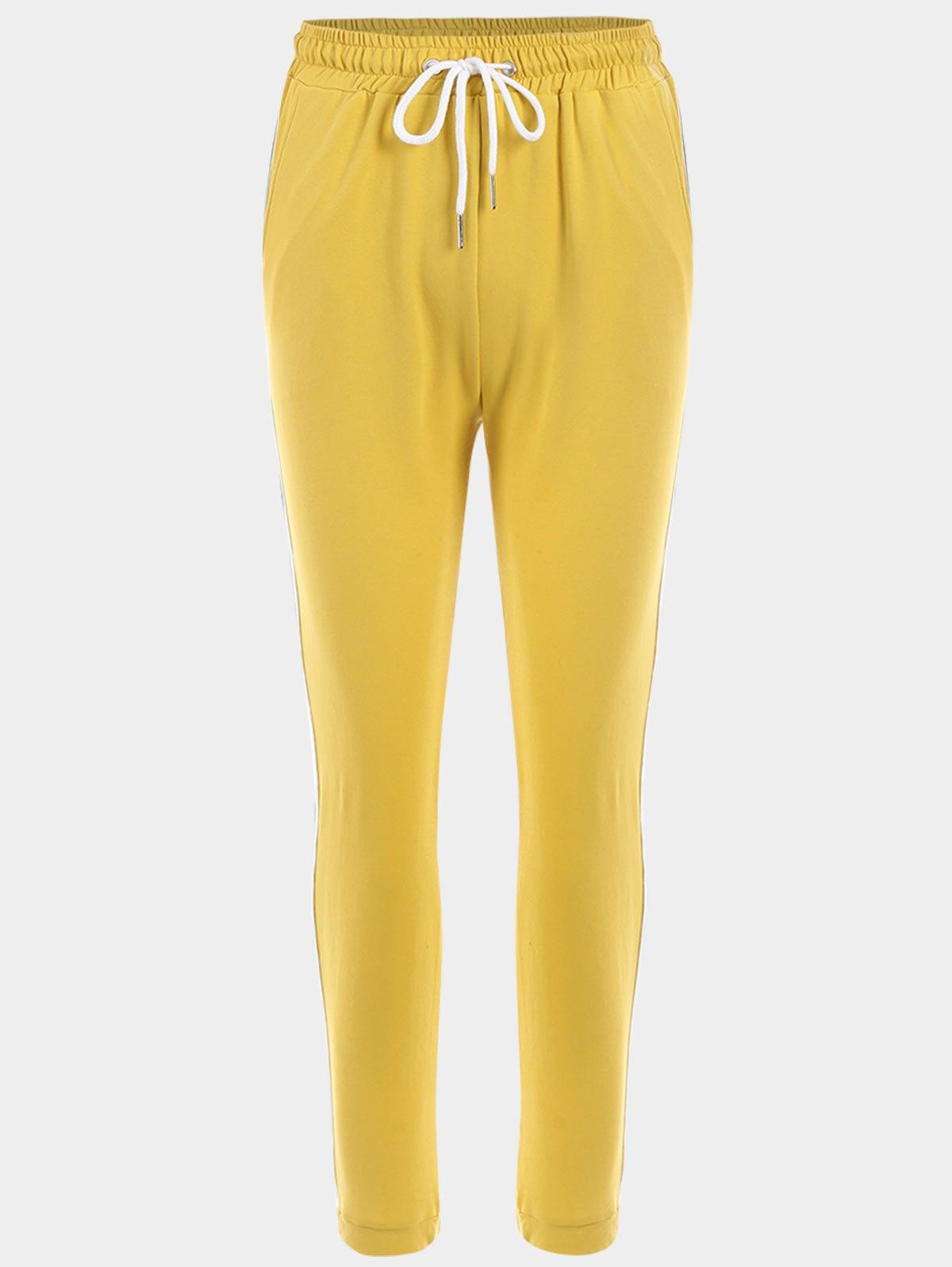 Pantalons sport à rayures