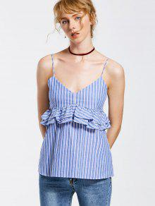 Stripes Raya S Top Tank Cami Ruffles 1qwf477