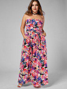Plus Size Bandeau Dress