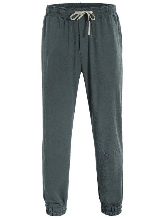hot Men Drawstring Jogger Pants - ATLANTIS 2XL