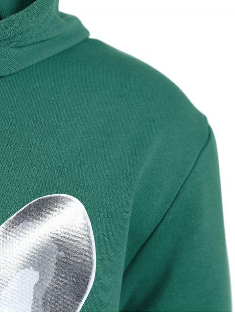 Puppy Hoodie oversize pour homme - Vert L Mobile