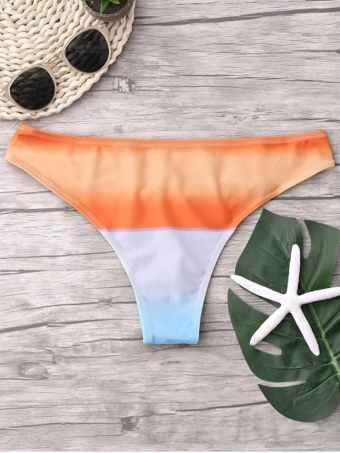 trendy Ombre Swimsuit Bottoms - COLORMIX S Mobile