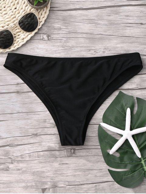 fancy Cheeky Bikini Bottoms - BLACK S Mobile