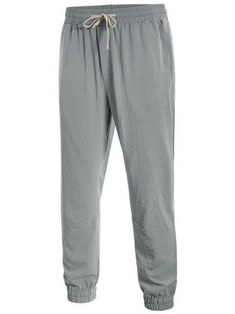Pantalons de jogging - Gris 4XL Mobile