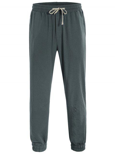 online Men Drawstring Jogger Pants - ATLANTIS 4XL Mobile