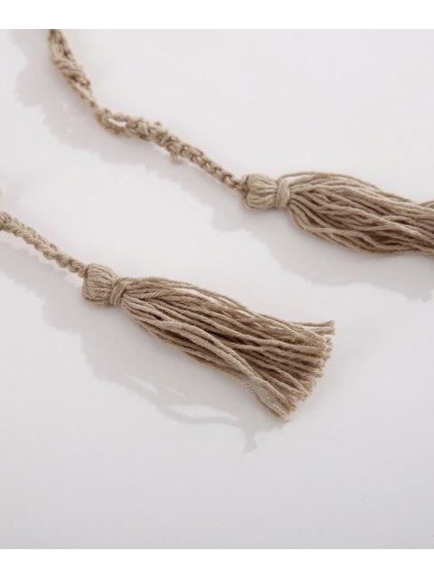Sequin Crochet Sarong - Kaki TAILLE MOYENNE Mobile