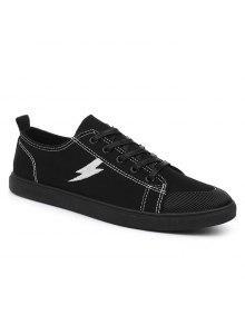البرق رود تو قماش أحذية رياضية - أسود 44