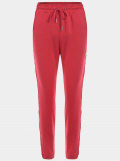 Pantalons Sport à Rayures - Rouge S
