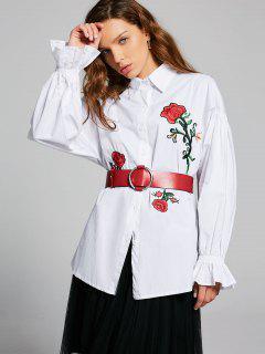 Chemise à Manches Courtes - Blanc