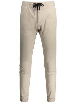 Pantalones Cortos Ocasionales Del Tirante Del Cordón - Caquiclaro 38