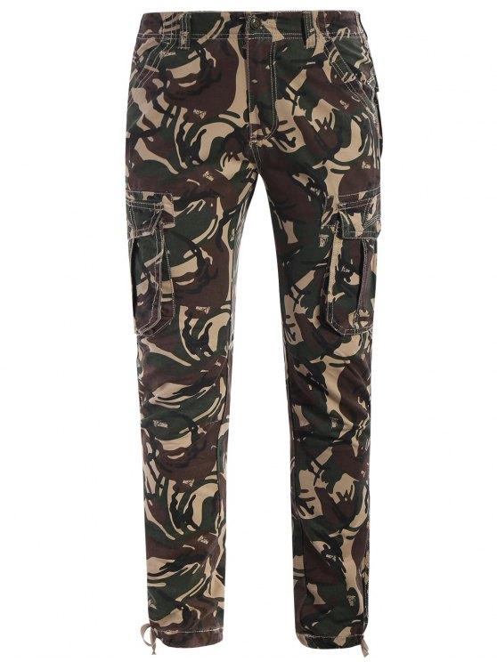 women's Camo Print Pants - ACU CAMOUFLAGE XL