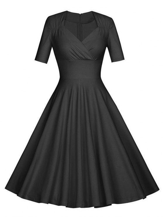 فستان الحفلة كلاسيكي - أسود L