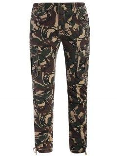 Camo Print Pants - Acu Camouflage Xl
