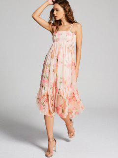 Floral Empire Waist Cami Dress - Floral