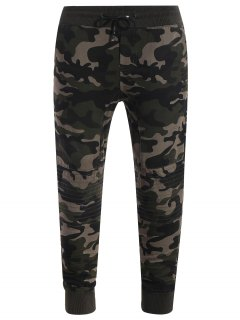 Camo Jogger Pants - Khaki 4xl