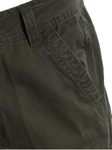 new Flap Pockets Pants - ARMY GREEN 2XL Mobile