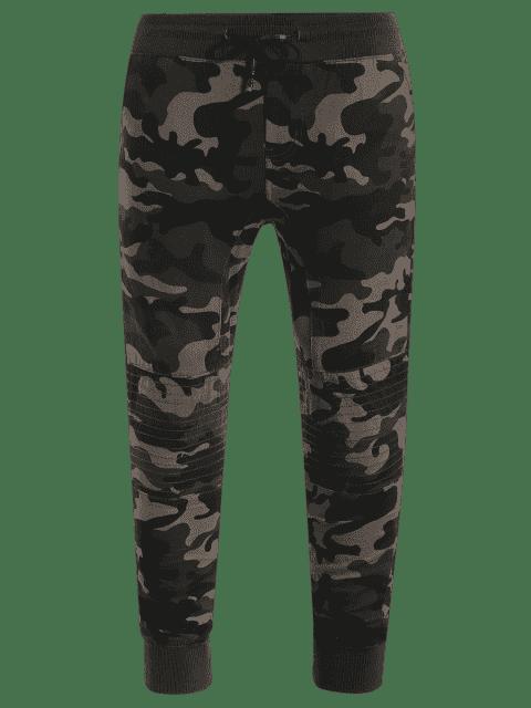 sale Camo Jogger Pants - ACU CAMOUFLAGE M Mobile