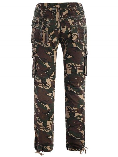 affordable Camo Print Pants - ACU CAMOUFLAGE 3XL Mobile