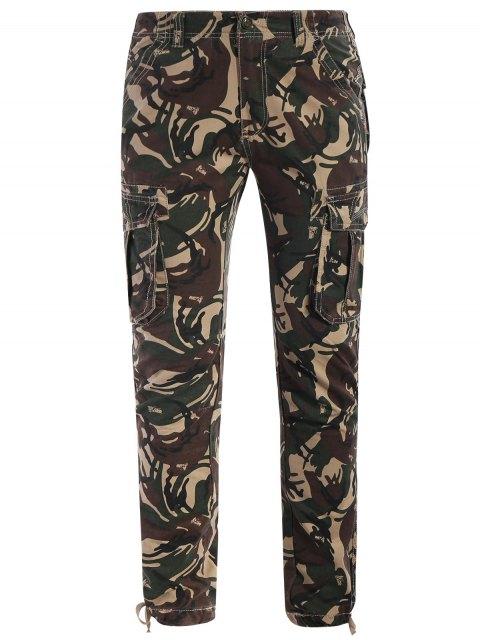 Camo Print Pants - Camouflage ACU 2XL Mobile