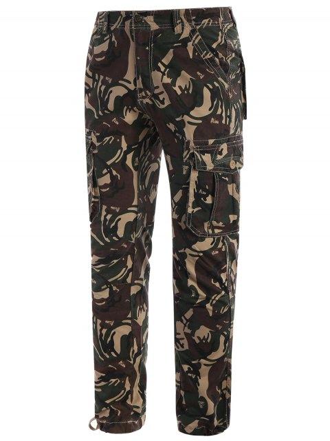 lady Camo Print Pants - ACU CAMOUFLAGE L Mobile