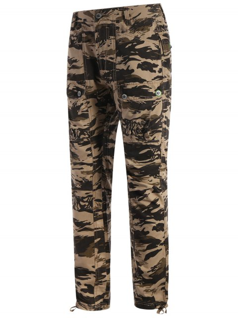 latest Pockets Camo Pants - ACU CAMOUFLAGE 2XL Mobile