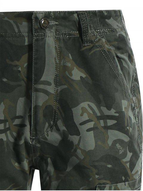 Poches rabattes Camo Pants - Camouflage ACU L Mobile