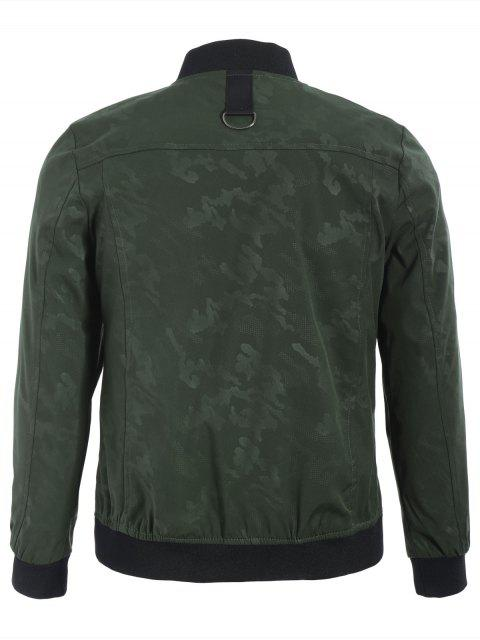 outfit Camo Bomber Jacket - ARMY GREEN XL Mobile