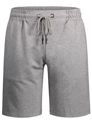 Herren Bermuda Shorts mit seitlichen Taschen und Kordelzug