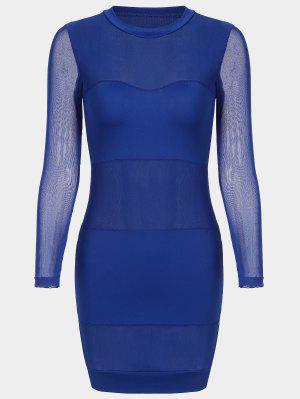 Vestido Para Mujer - Azul L