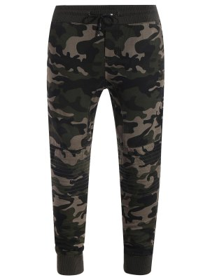 Jogger Hose mit Camomuster