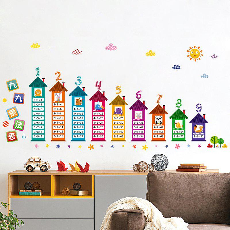 Multiplication Table Wall Art Sticker For Kids Room 221656601