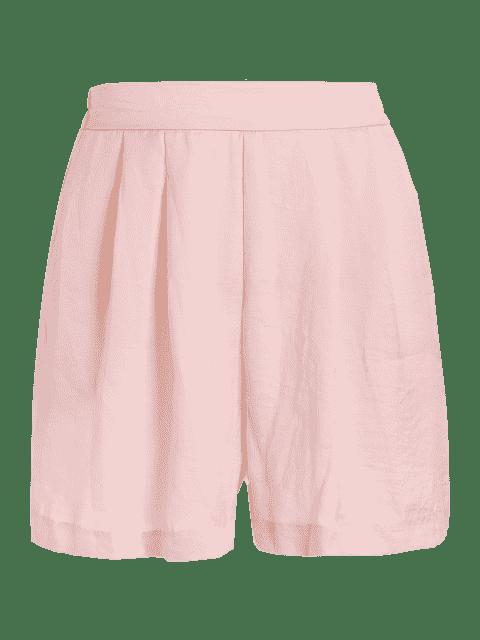 Shorts à pattes larges - ROSE PÂLE L Mobile