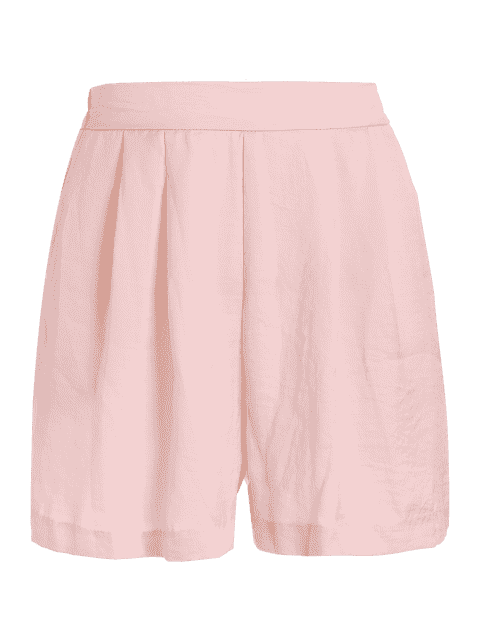 Shorts à pattes larges - ROSE PÂLE M Mobile