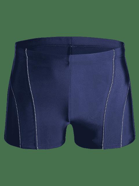 best Drawstring Swim Trunks - BLUE XL Mobile
