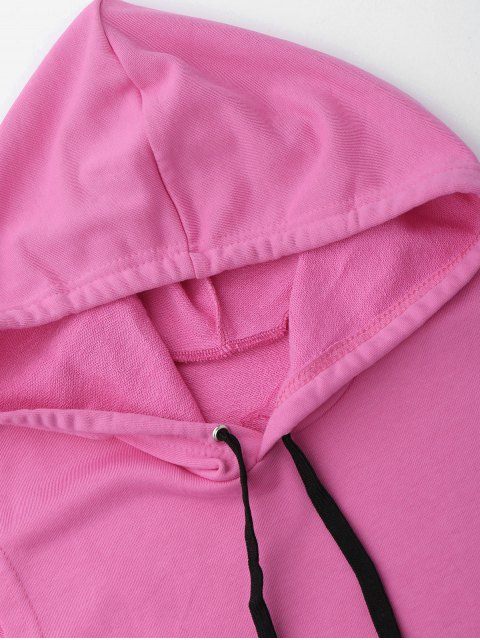 chic Dropped Armhole Hooded Sports Top - TUTTI FRUTTI ONE SIZE Mobile