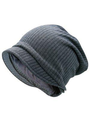 Striped Knitted Warm Beanie Hat