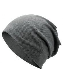 سهل، محبوك، بينستريبد، قبعة بيني - الرمادي العميق