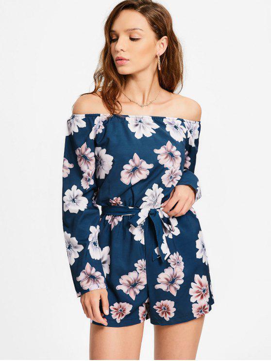 Manteau à manches longues à manches courtes - Floral XL