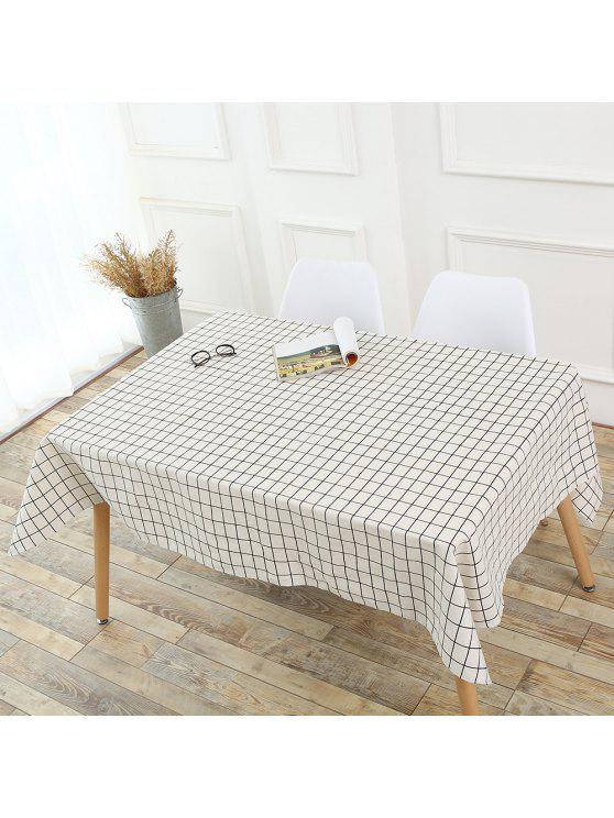 الترتان منقوشة ديكور المطبخ سماط - أبيض W55 بوصة * L40 بوصة
