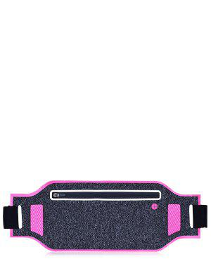 Light Weight Color Block Breathable Waist Bag